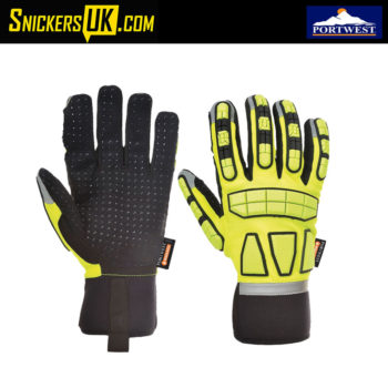 Portwest A724 Unlined Safety Impact Gloves