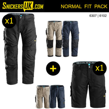 Snickers LiteWork Non Holster Pocket Trousers & Shorts - Snickers Workwear