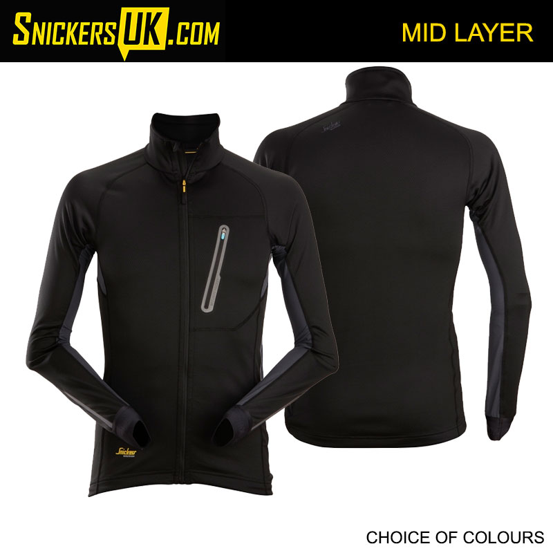 Snickers 9448 LiteWork Full Zip Mid Layer