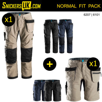 Snickers LiteWork Holster Pocket Trousers - Snickers Workwear