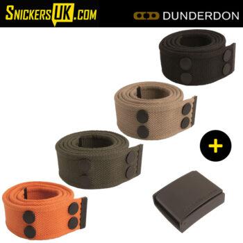 Dunderdon BE01B Canvas Belt & Black Buckle