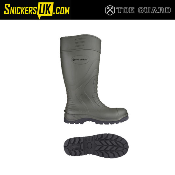 Toe Guard Boulder S5 Safety Wellies - Safety Footwear