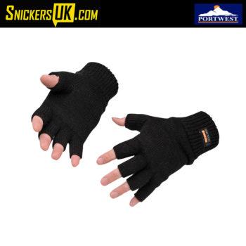 Portwest GL14 Fingerless Knit Gloves