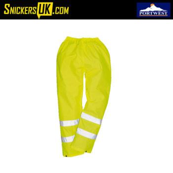 Portwest H441 High Vis Waterproof Trousers