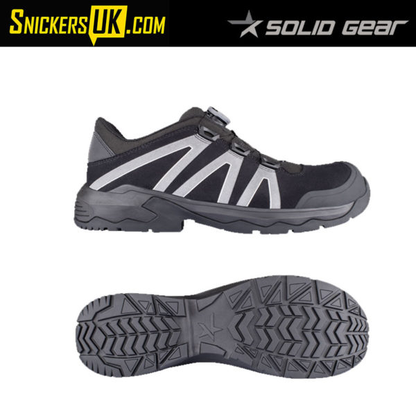 Solid Gear Onyx Low Safety Trainer - Safety Footwear
