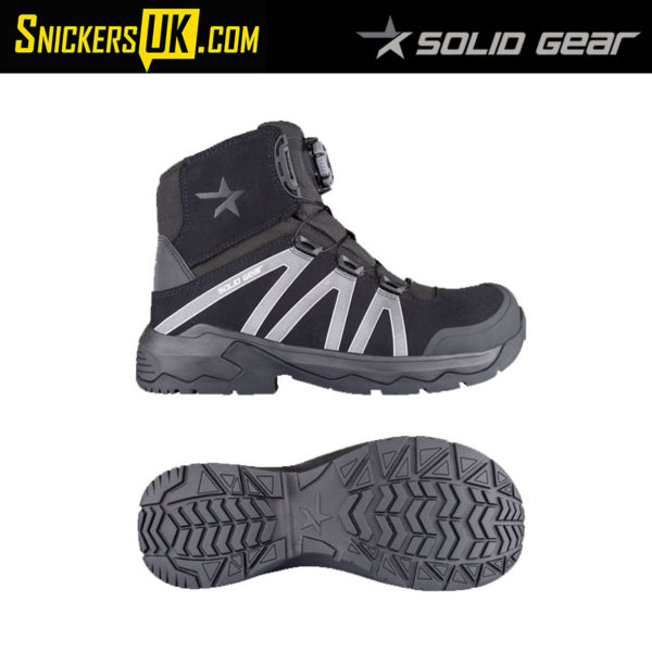 Solid Gear Onyx Mid Safety Boot - Safety Footwear