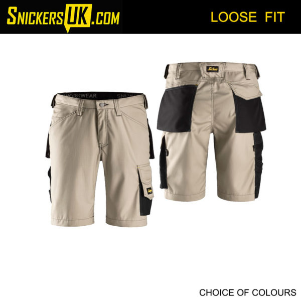 Snickers 3123 Rip Stop Non Holster Pocket Shorts - Snickers Workwear