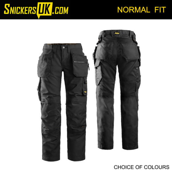 Snickers 6701 AllRoundWork Women's Holster Pocket Trousers