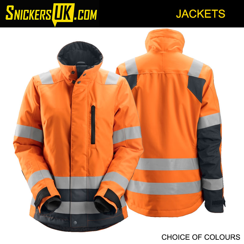 Snickers 1137 AllRoundWork Women's High Vis 37.5 Insulated Jacket - High Vis Jackets
