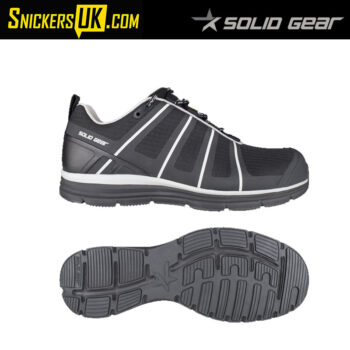 Solid Gear Evolution Black Safety Trainer - Safety Footwear