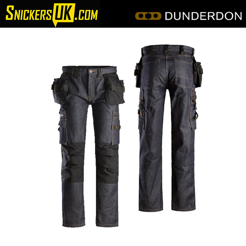 Dunderdon by Snickers P55s Holster Pocket Work Shorts Stonewashed