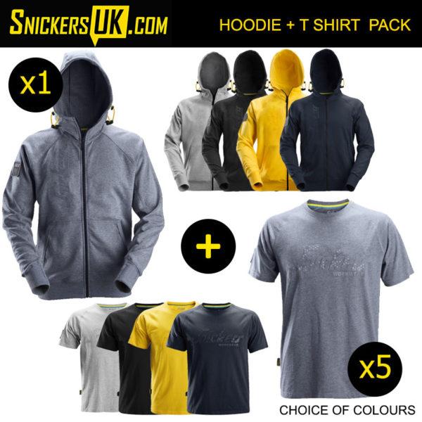 Snickers Hoodie + T Shirt Pack - Snickers Hoodies