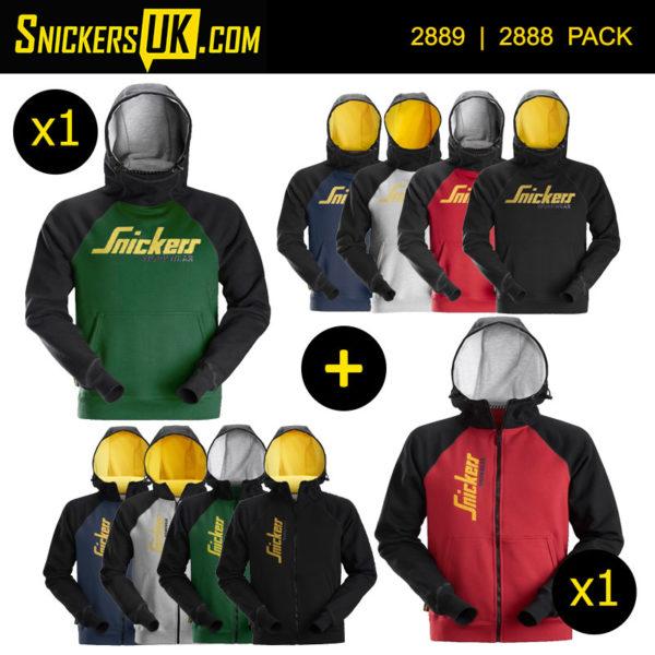Snickers Logo Hoodie Pack - Snickers Hoodies