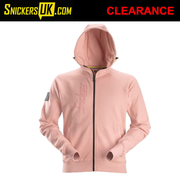 Snickers 2880 Zipped Logo Hoodie