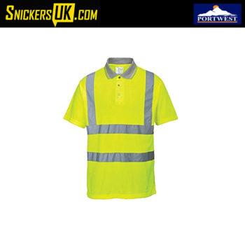 Portwest S477 Hi-Vis Short Sleeve Polo Shirt