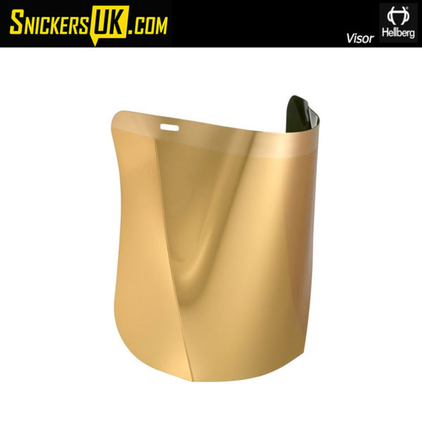 Hellberg Safe Polcarbonate Goldplated Visor