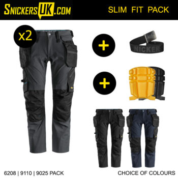 Snickers 6208 LiteWork Detachable Holster Pocket Trousers