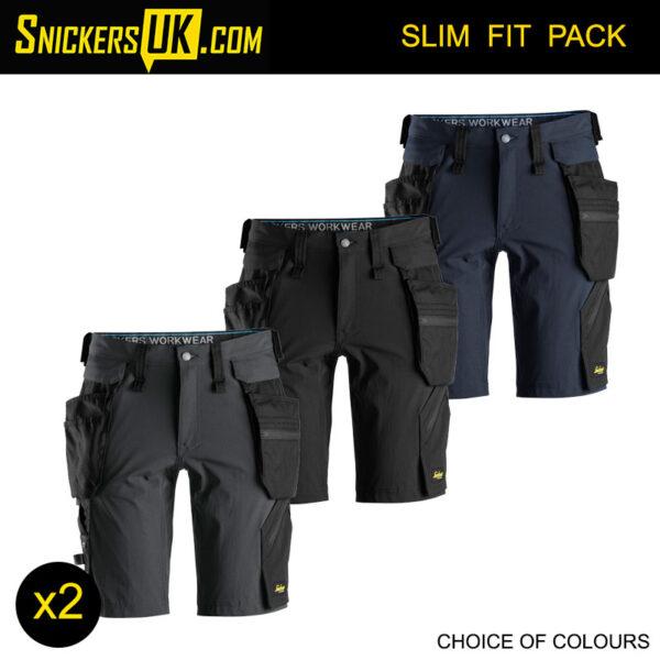 Snickers 6108 LiteWork Detachable Holster Pocket Shorts