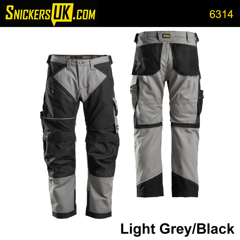 Snickers 6314 Ruffwork Canvas Non Holster Pocket Trousers