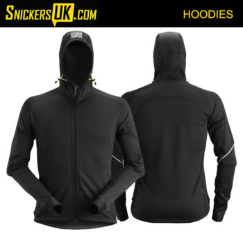 Snickers 8002 FlexiWork, Polartech® 2.0 Stretch Full Zip Fleece Hoodie