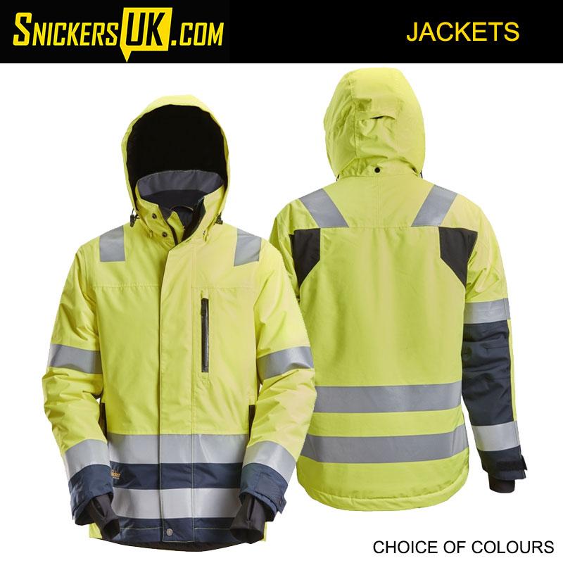 Snickers 1132 AllRoundWork, High-Vis Waterproof 37.5® Insulated Jacket