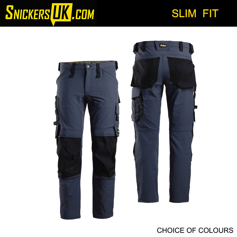 Snickers 6371 AllroundWork Full Stretch Non Holster Pocket Trousers