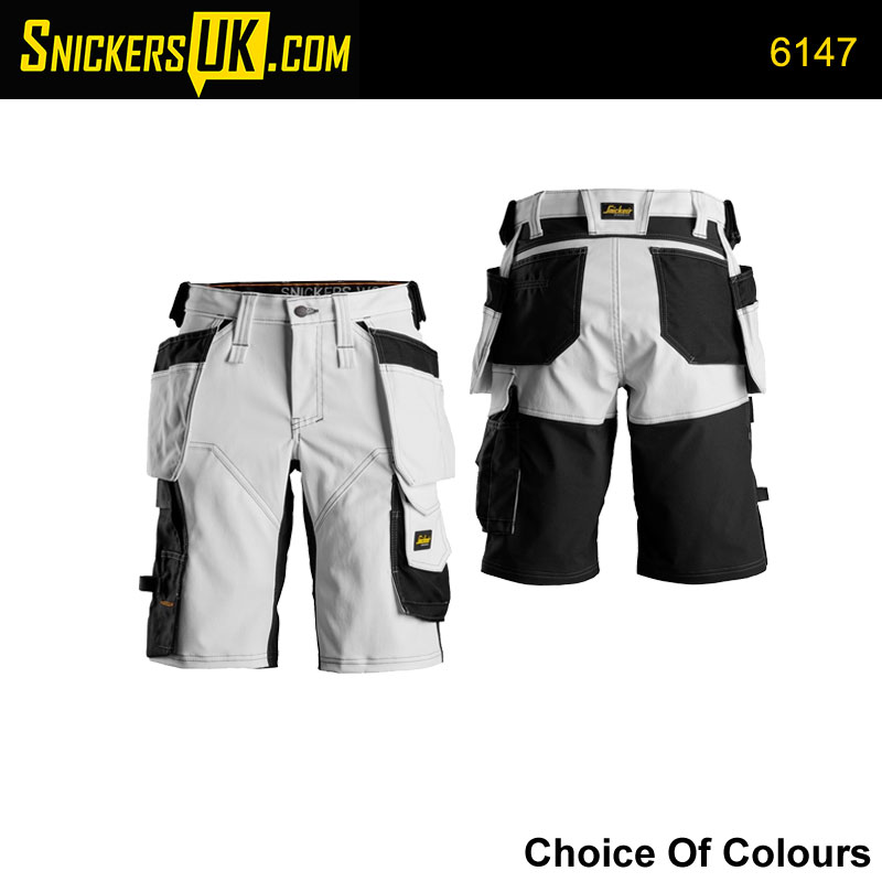 Snickers 6147 AllRoundWork Women's Stretch Holster Pocket Shorts