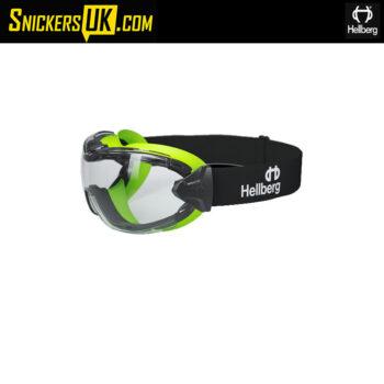 Hellberg Neon Plus Clear AF/AS Endurance Safety Googles
