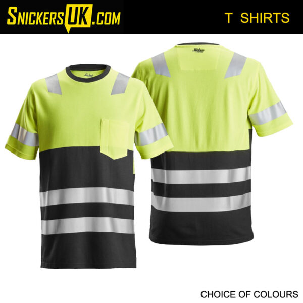 Snickers 2534 AllRoundWork High Vis T Shirt