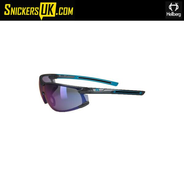 Hellberg Krypton Blue AF/AS Safety Glasses