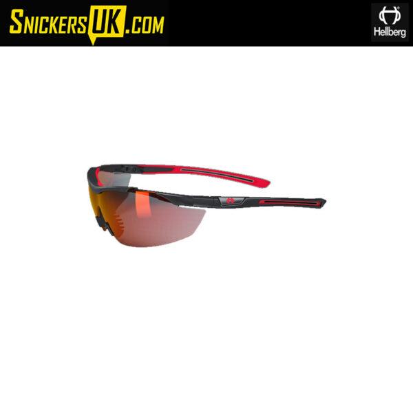 Hellberg Argon Red AF/AS Safety Glasses