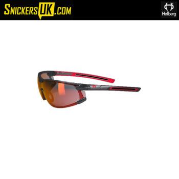 Hellberg Krypton Red AF/AS Safety Glasses
