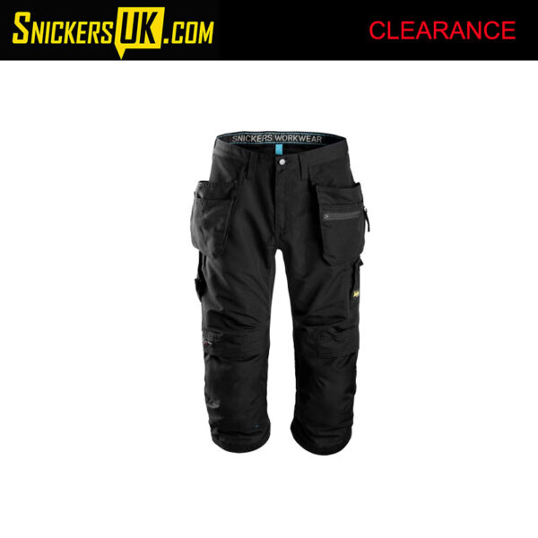 Snickers 6103 LiteWork 37.5 3/4 Pirate Trousers
