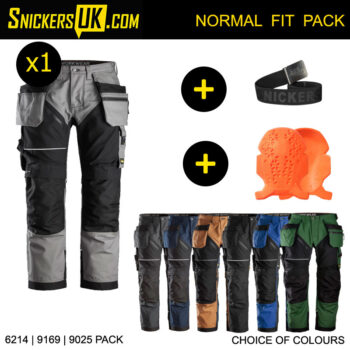 Snickers 6214 RuffWork Canvas+ Holster Pocket Trousers Pack