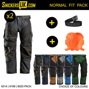 Snickers 6314 Ruffwork Canvas Non Holster Pocket Trousers Pack