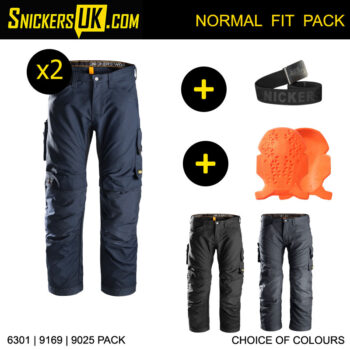 Snickers 6301 AllRoundWork Non Holster Pocket Trousers Pack