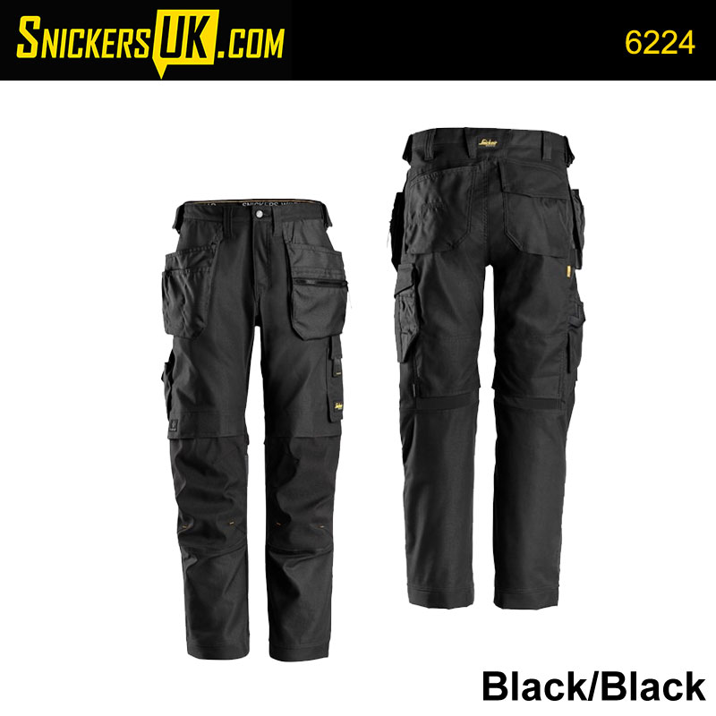 Snickers 6224 AllRoundWork Canvas+ Holster Pocket Trousers