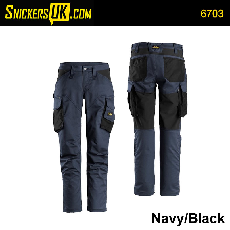 Snickers 6703 AllRoundWork Women's Stretch Trousers
