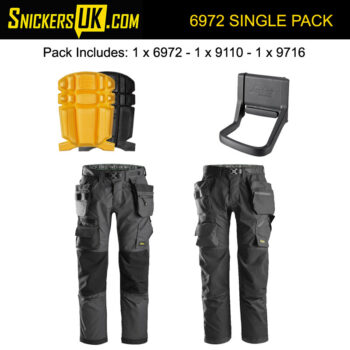 Snickers 6972 FlexiWork Detachable Holster Pocket Trousers
