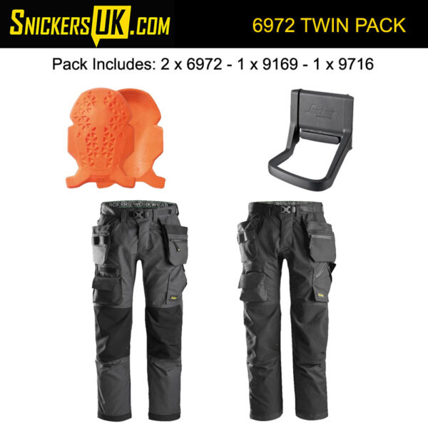 Snickers 6972 FlexiWork Detachable Holster Pocket Trousers Pack