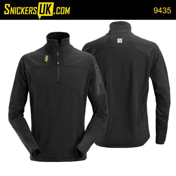 Snickers 9435 Body Mapping 1/2 Zip Micro Fleece Jacket
